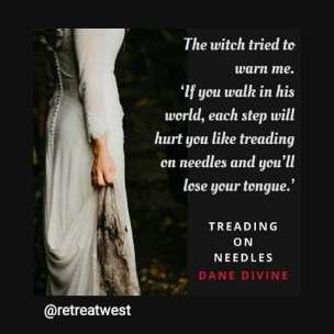 treading on needles quote oct 2018